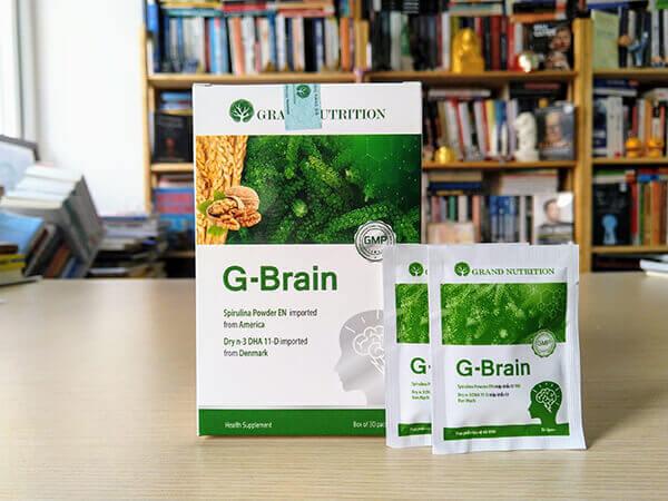 Đối tượng nên sử dụng cốm trí não G-Brain
