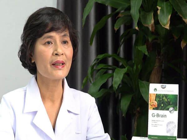 Thạc sĩ, bác sĩ Lê Thị Hải giải thích về cốm trí não G-Brain