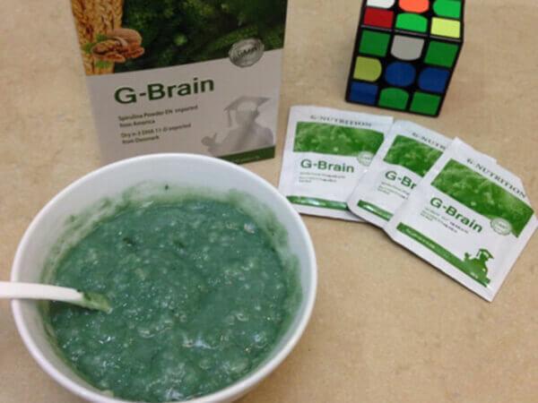 Dùng cốm trí não G-Brain bao lâu có kết quả
