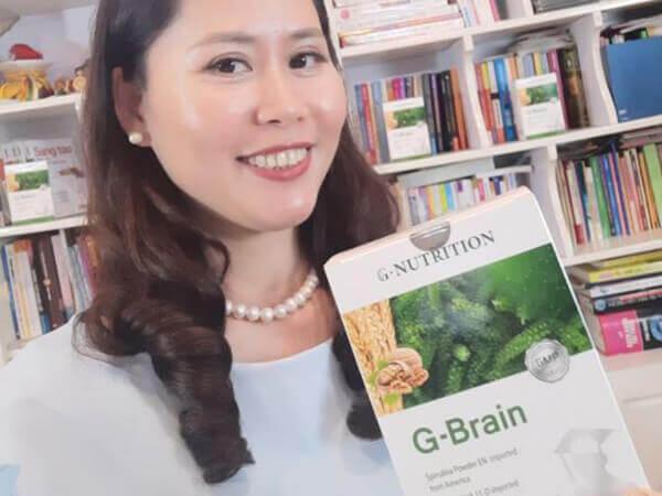 Feedback trước và sau khi sử dụng cốm trí não G-Brain