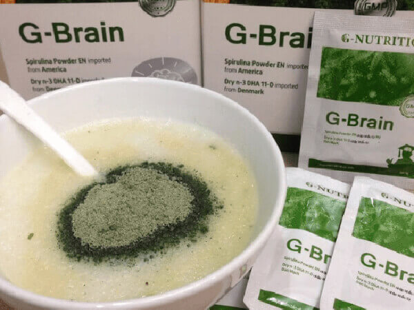 Hướng dẫn dùng cốm trí não G-Brain