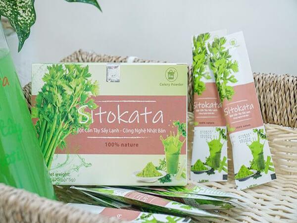 mua bột cần tây sitokata
