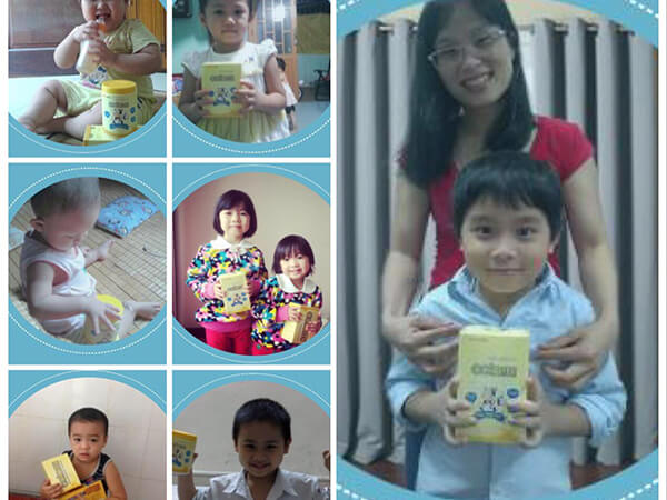 Phản hồi của các mẹ về sữa non colomi