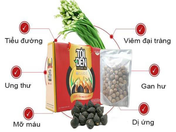 Thành phần dinh dưỡng của tỏi đen Kochi
