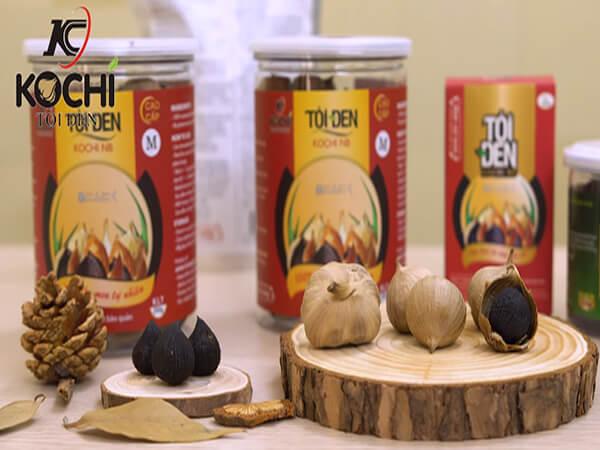 Điểm biệt của tỏi đen Kochi