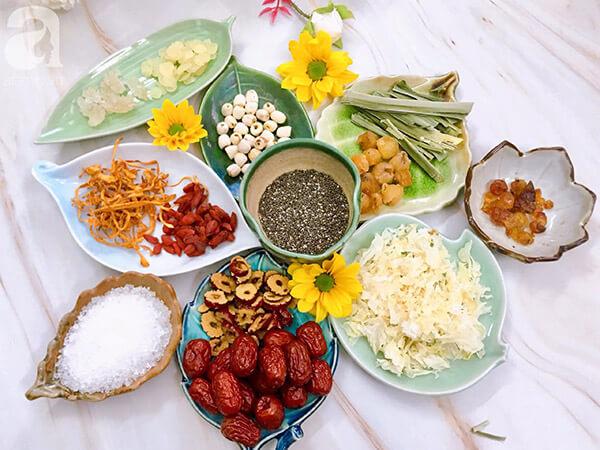 Ưu khuyết khi mua nguyên liệu nấu chè dưỡng nhan