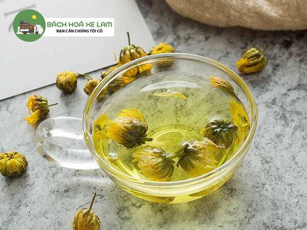 Cách pha trà hoa cúc nguyên vị