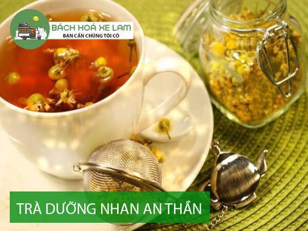 Công thức nấu trà dưỡng nhan an thần