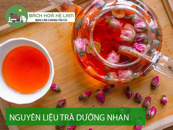 Nguyên liệu trà dưỡng nhan