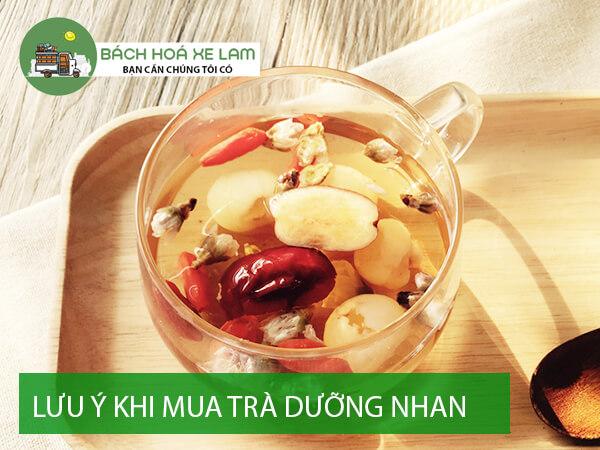 Lưu ý khi mua nguyên liệu làm trà dưỡng nhan