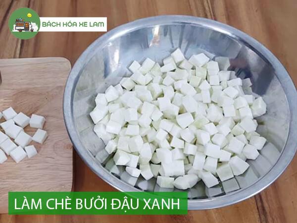 Cách làm chè bưởi đậu xanh