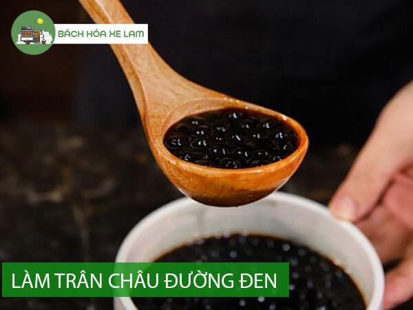 Cách làm milo dầm trân châu đường đen