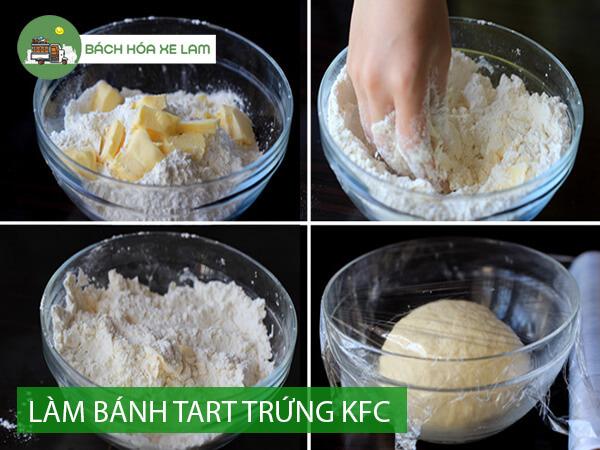 Công thức làm bánh tart trứng KFC