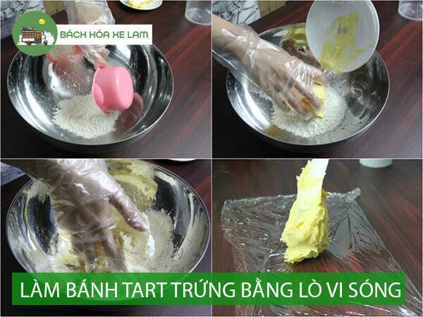 Công thức làm bánh tart trứng bằng lò vi sóng