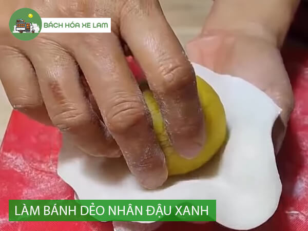 Công thức làm bánh dẻo nhân đậu xanh