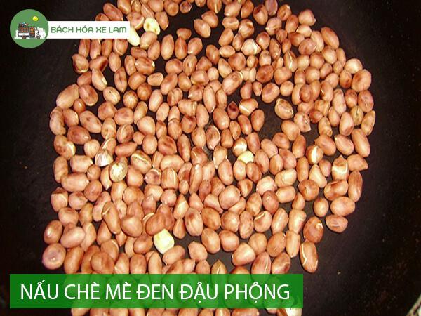 Nguyên liệu nấu chè mè đen đậu phộng