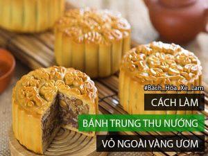 Cách làm bánh trung thu