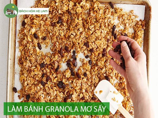 Công thức làm granola bằng chảo