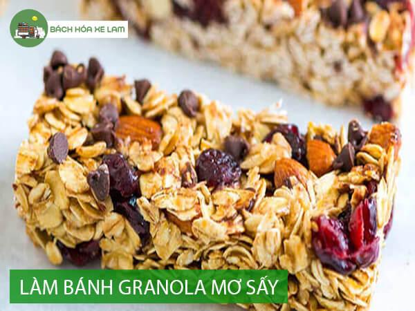 Cách làm granola bằng chảo