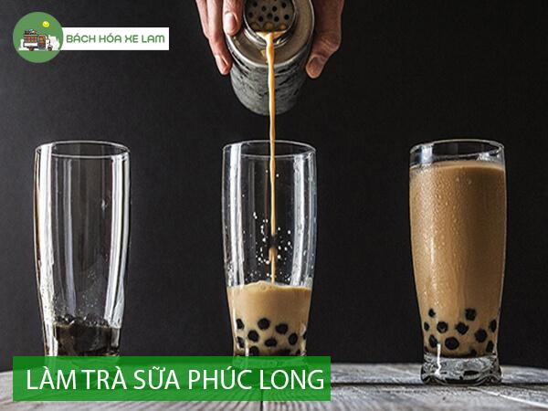 Cách làm trà sữa phúc long ngon