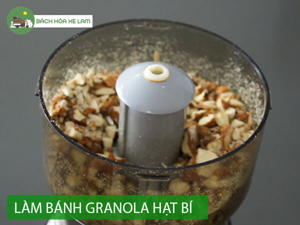 Công thức làm granola bằng nồi chiên không dầu