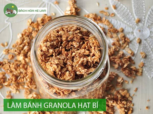 Cách làm granola bằng nồi chiên không dầu