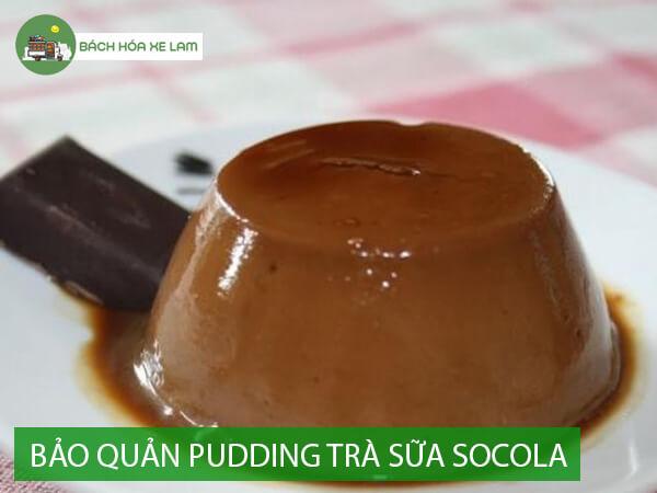 Bảo quản pudding trà sữa