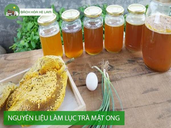 Cách làm lục trà sữa mật ong trân châu