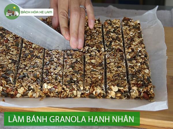 Cách làm granola bằng lò nướng