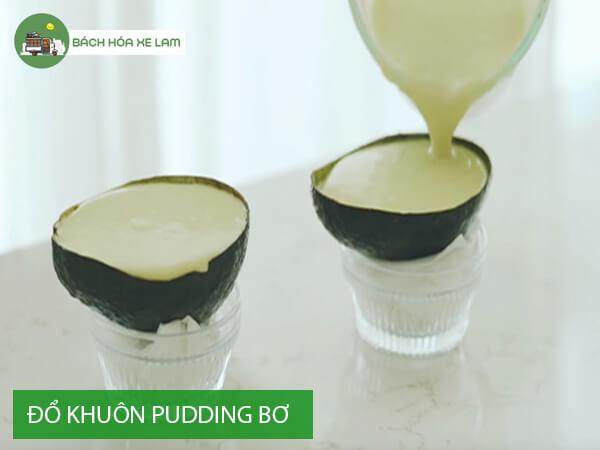 Cách làm pudding bơ bằng bột bắp