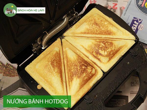 Cách làm bánh hotdog tam giác