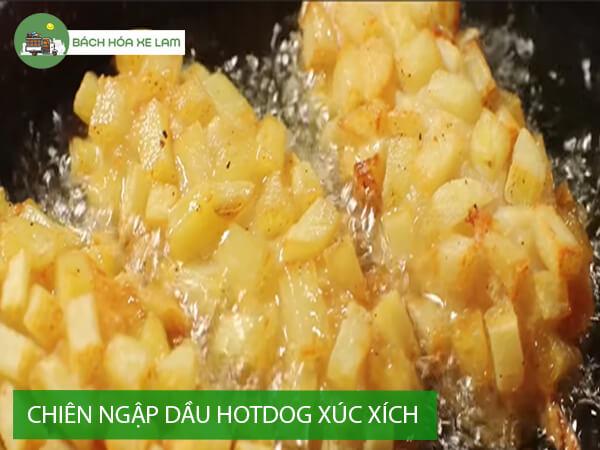 Cách làm bánh hotdog xúc xích hàn quốc
