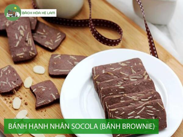 Bánh hạnh nhân socola (bánh brownie)